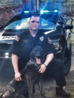 K9 Officer Varnell and Rocco
