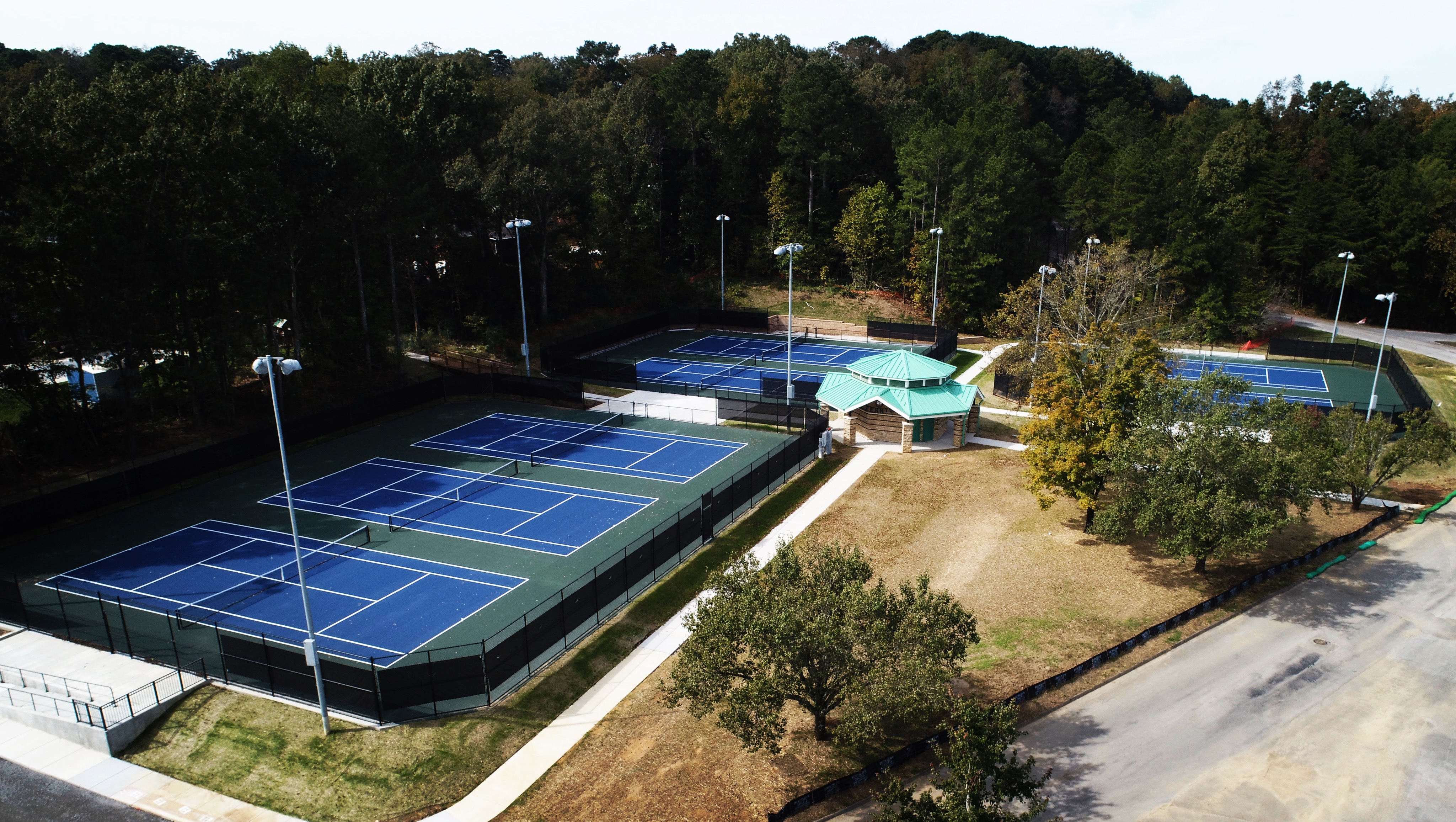 Tennis Courts at Park
