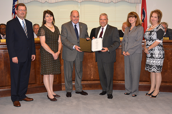 Cleveland, TN - Official Website - City earns 27th CAFER Award