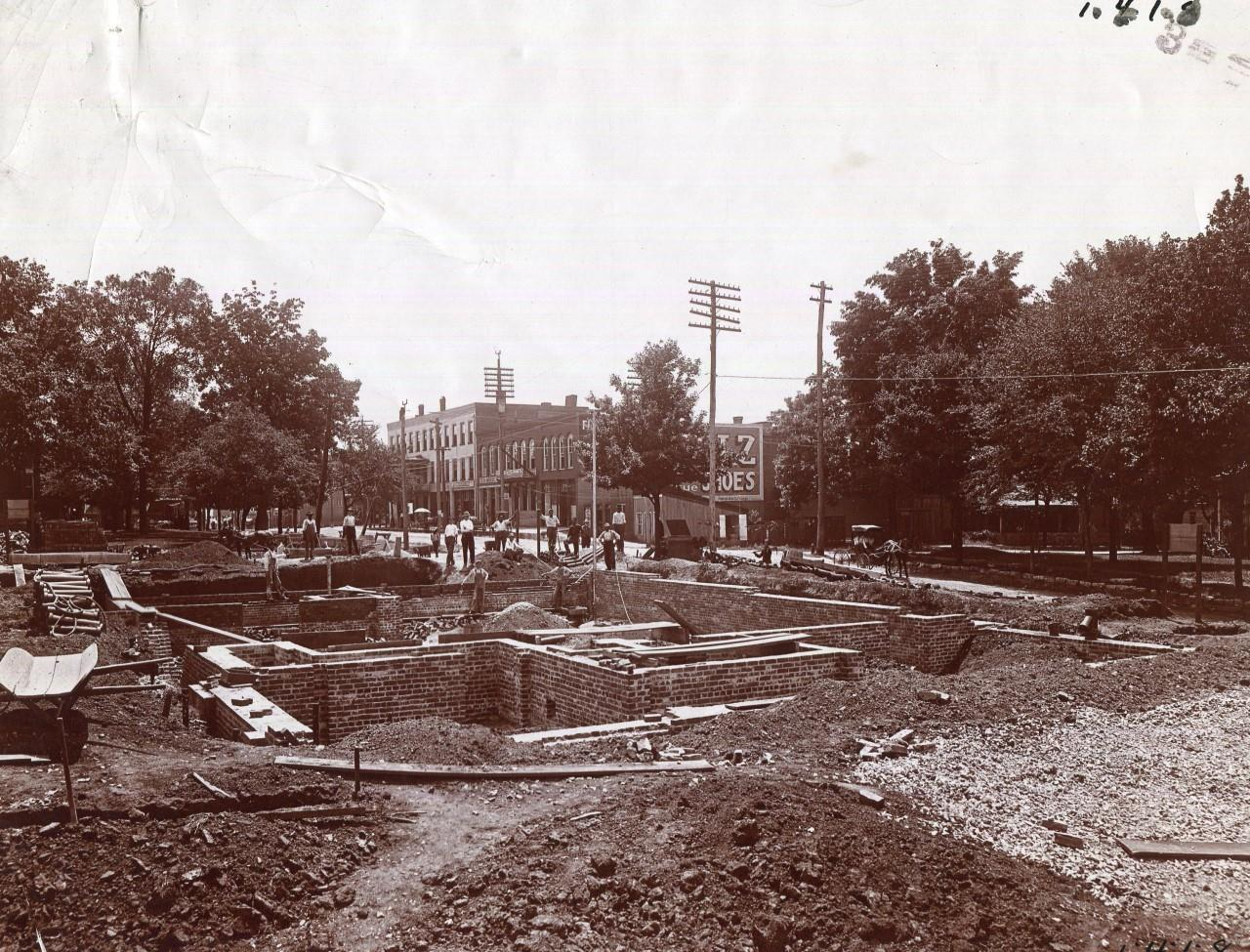 Post Office Underconstruction 1910